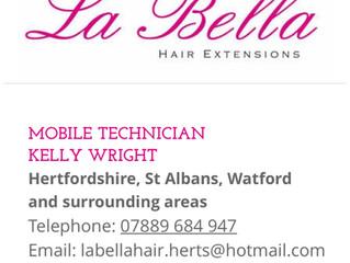 La Bella Hair Extensions Hertfordshire!