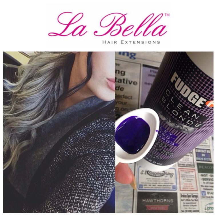 La Bella Silver Grey Hair Extensions