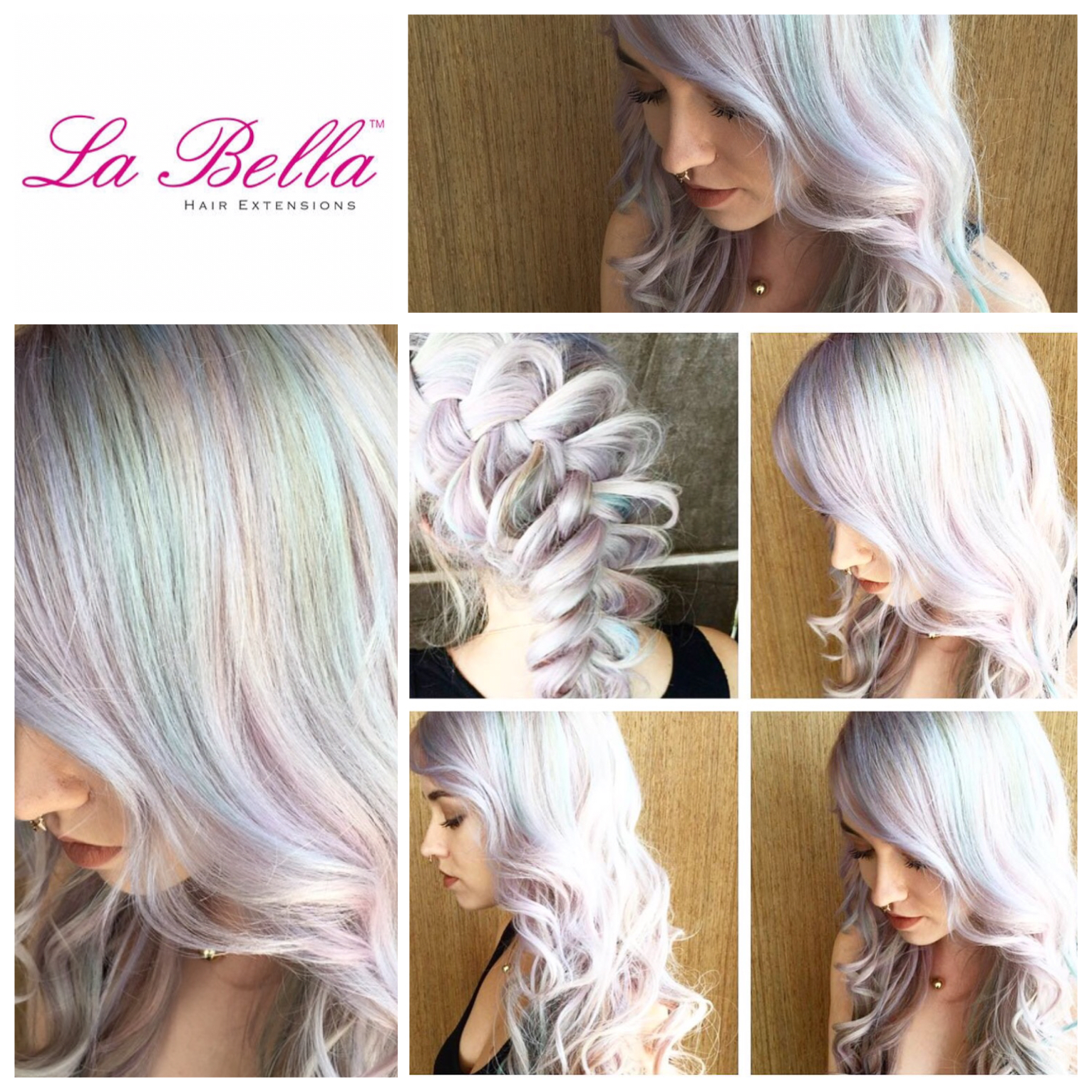 Rainbow Hair La Bella Nano Ring Hair Extensions