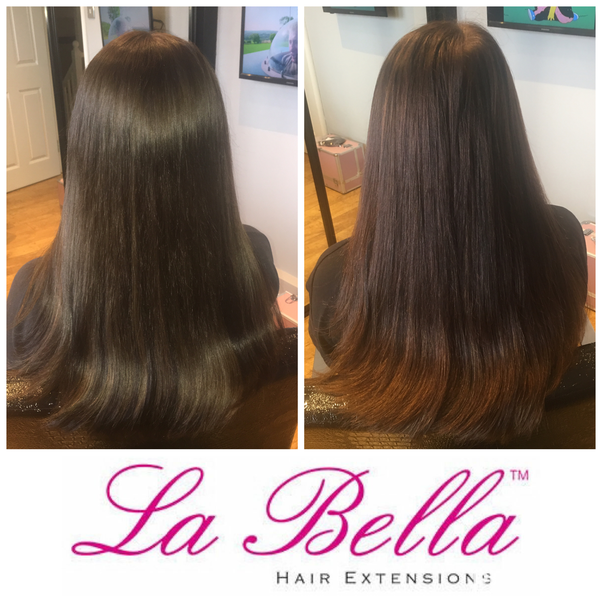 Perfect Colour Match La Bella Nano Ring Hair Extensions
