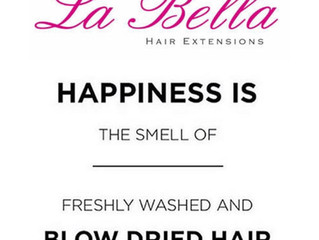 Washing your La Bella hair extensions