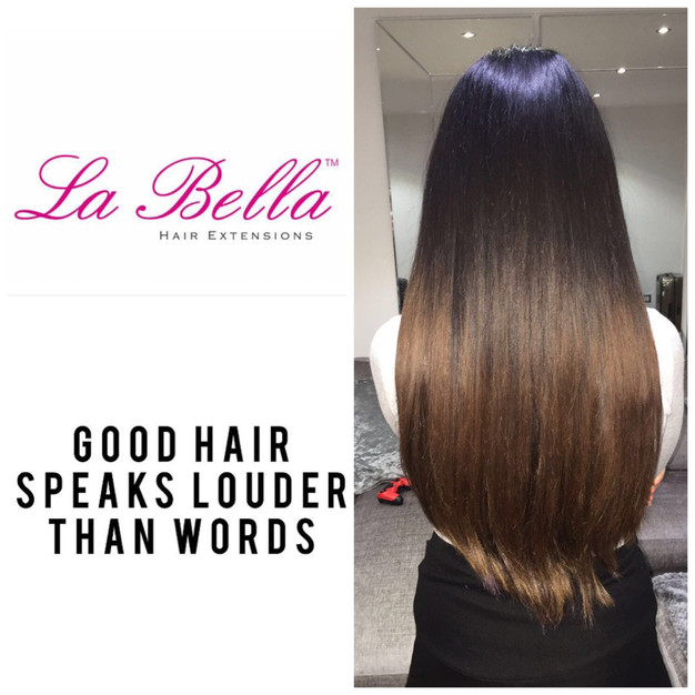 Great Hair Speaks La Bella La Bella Nano Ring Hair Extensions