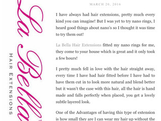 La Bella Hair Extension Reviews