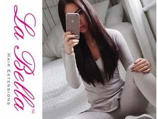 La Bella Hair Extensions meets Fashion Blogger Ruby Fairs