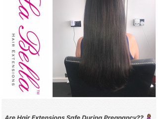 FAQ: Hair Extensions and Pregnancy?