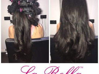 Pro Blow with La Bella Hair Extensions