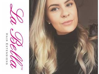 Client Selfie - La Bella Hair Extensions