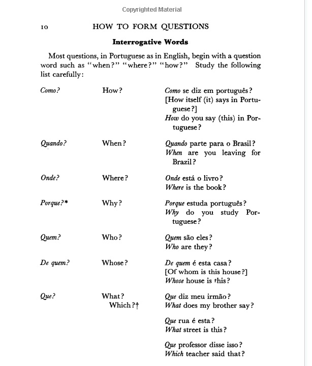 Why Learn Portuguese Sayings