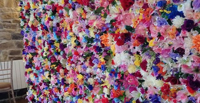 Flower Wall Hire North East