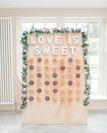 Doughnut Wall Hire North East