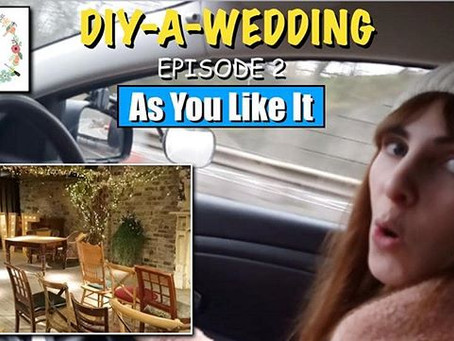 DIY-A-Wedding - Episode 2 - As You Like It - North East Wedding Decor Hire - Love Lights