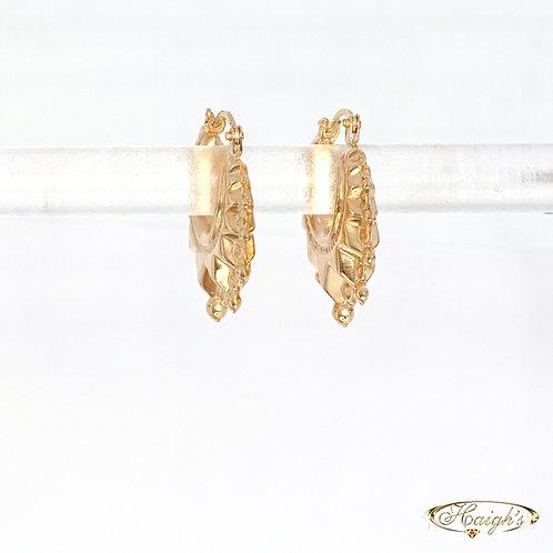 9kt Yellow Gold Earrings
