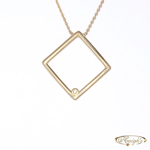 Diamond Set Necklet