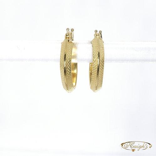 18kt Yellow Gold Earrings