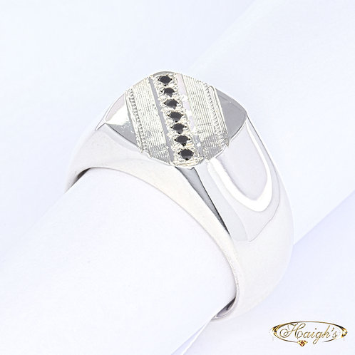 Black Diamond Gents Ring