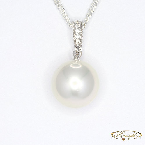 Autore Pearl & Diamond Pendant
