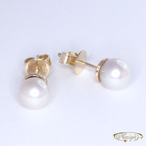 Fraser Island Pearl Earrings