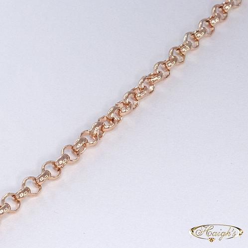 9kt Rose Gold Bracelet