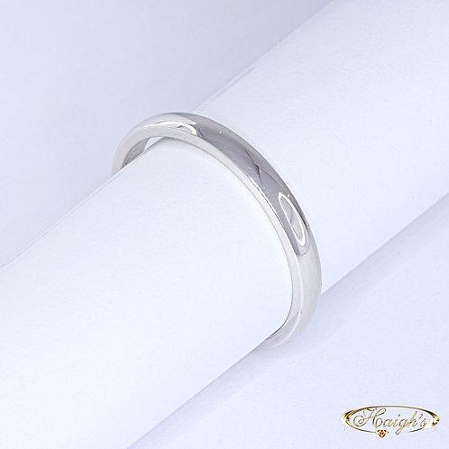 9kt White Gold Wedding Ring