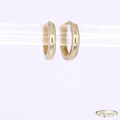 9kt Yellow Gold Huggie Earrings