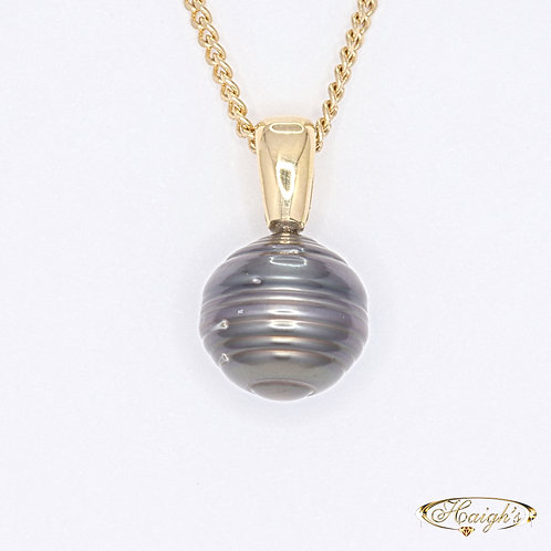 Tahitian South Sea Cultured Pearl Pendant