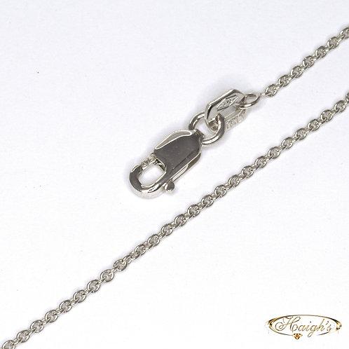 9kt White Gold Chain