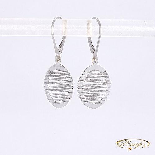 9kt White Gold Earrings