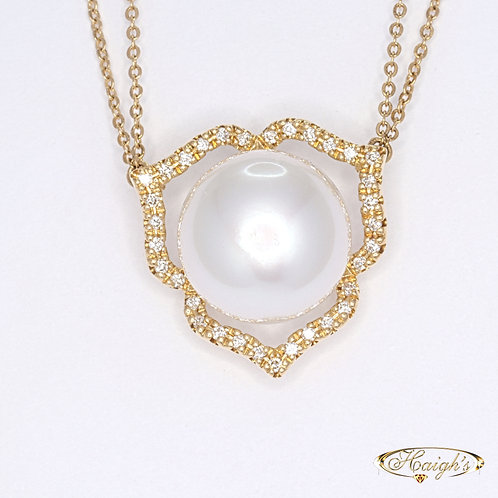 Autore Pearl & Diamond Necklet