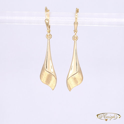 9kt Yellow Gold Earrings