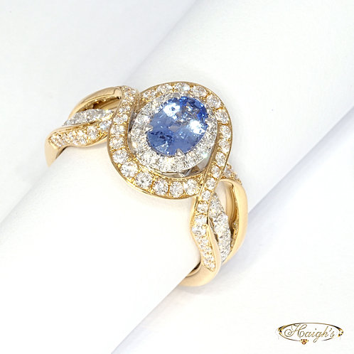 18kt two tone Ring