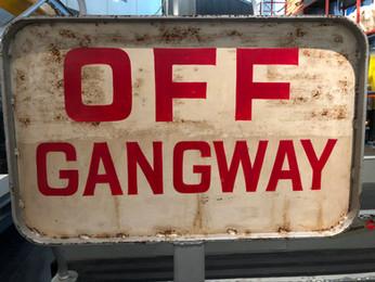 OFF GANGWAY