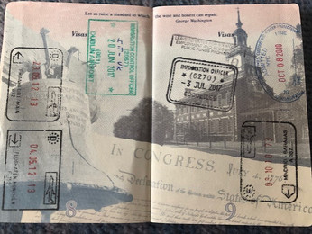 'Of all the books in the world, the best stories are found between the pages of a passport.'