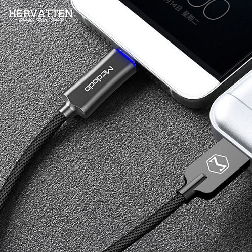 Original Mcdodo 1M & 1.5M Knight Series Quick Charge QC 3.0 Android Type C Cable