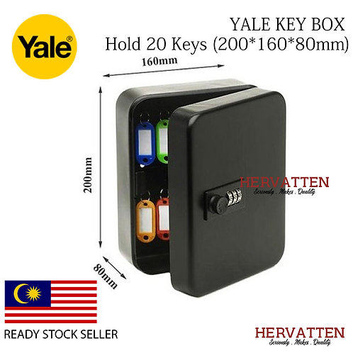 YALE COMBINATION LOCK KEY BOX KEY YKB/200/CB2