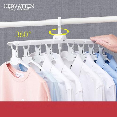 Multi-Function Folding Clothes Hanger Clothes Rack