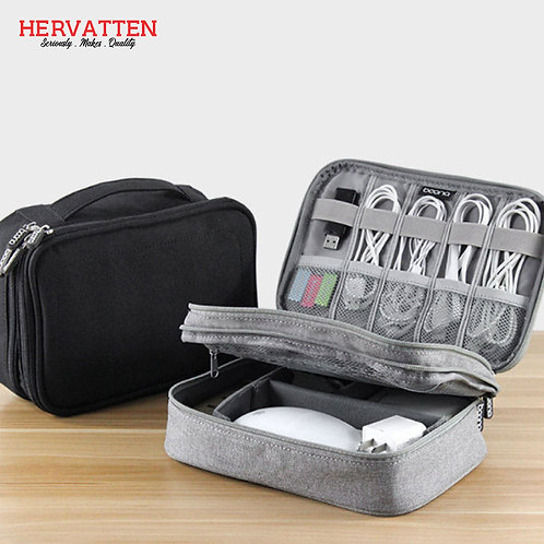 Boana Electronic Double Layer Big Capacity Storage Bag Multi Function Package