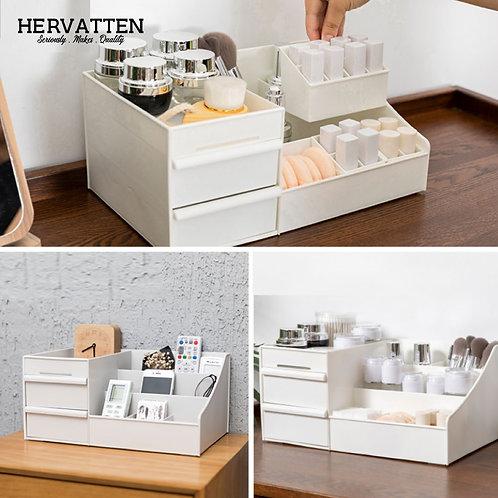 Hervatten Cosmetics Storage Box Drawer Type Large Dressing Table Jewelry Box