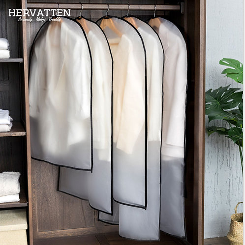 Washable Clothes Dust Cover Transparent Clothing Cover Suit Cover Dust