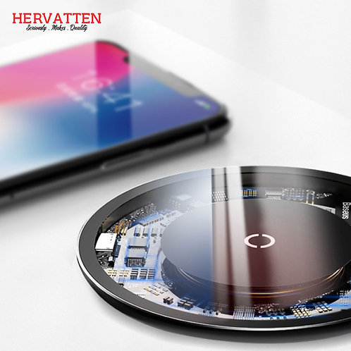 Baseus Mini Ultra Thin Wireless Visible Fast Wireless Charging Pad