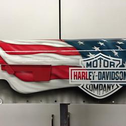 Harley American Flag