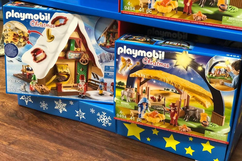 Playmobil Christmas sets