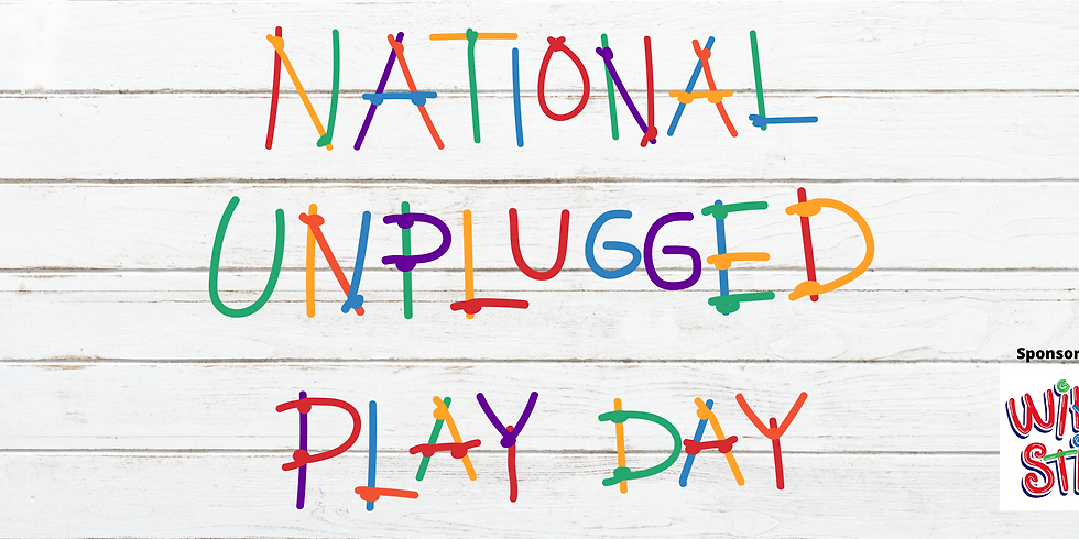 National Unplugged Play Day