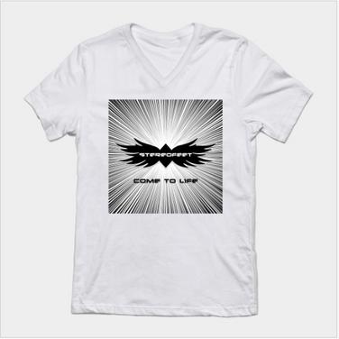 Come To Life V Neck T-Shirt