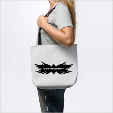 Stereofeet Logo Tote Bag