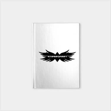 Stereofeet  Logo Notebook