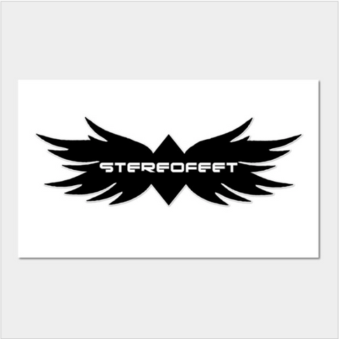 Stereofeet Logo Wall Art