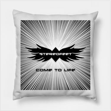 Come To Life Throw Pillow