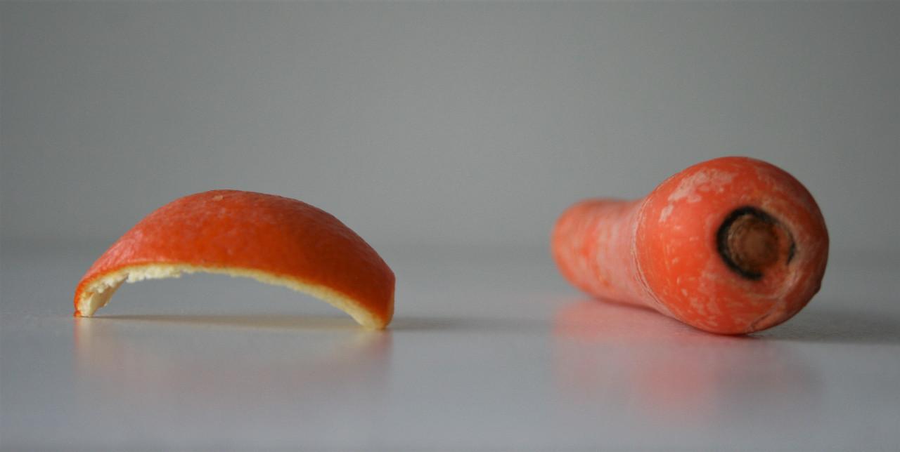 Carrot and orange peel (2020)