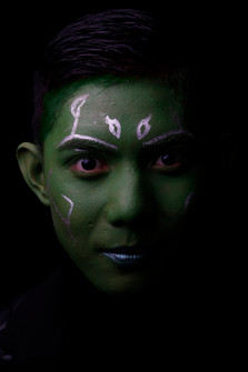 Kian fra Vg2 MK som Gamora fra Guardians of the Galaxy