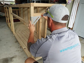 Building odd jobs handyman repair